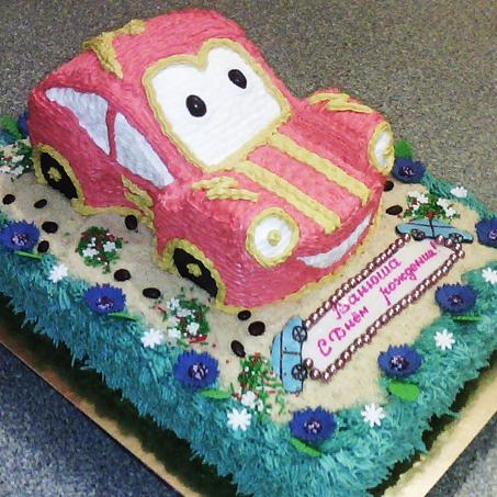 Торт из сливок